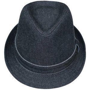 Levi's Denim Fedora Hat L/XL NWT Black